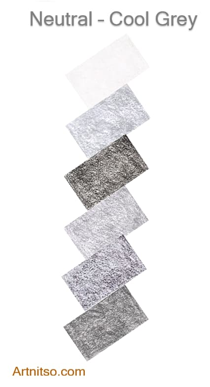 Caran d'Ache Luminance Neutral-Cool Grey 2020 - Artnitso.com