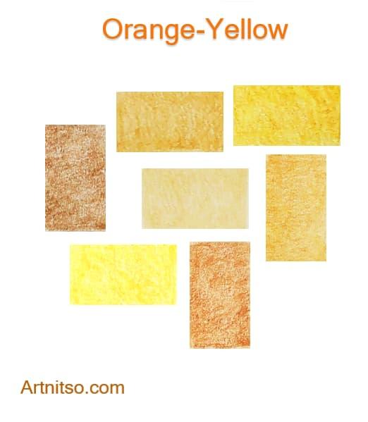 Caran d'Ache Luminance Orange-Yellow 2020 - Artnitso.com