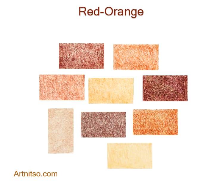 Caran d'Ache Luminance Red-Orange 2020 - Artnitso.com