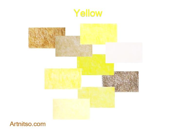 Caran d'Ache Luminance Yellow 2020 - Artnitso.com