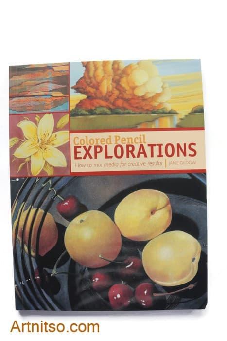 Colored Pencil Explorations - Janie Gildow - cover -artnitso.com