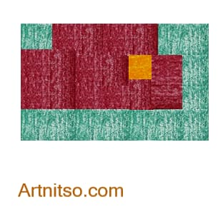 Colour Relationships - Orange-Yellow, Green-Blue, Violet-Red Triad Artnitso.com