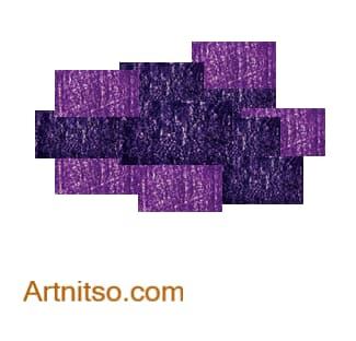Colour Relationships - Violet-Blue, Violet Analoguous 2 Artnitso.com