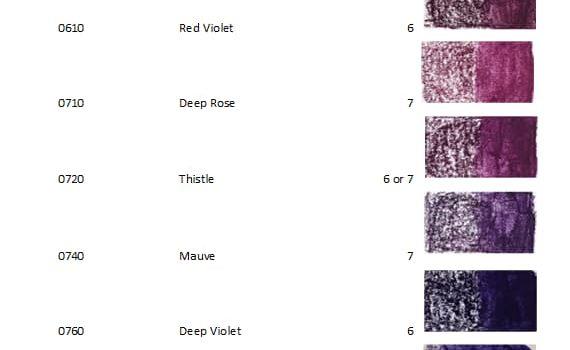 Derwent Inktense Blocks 72 violet - Artnitso.com