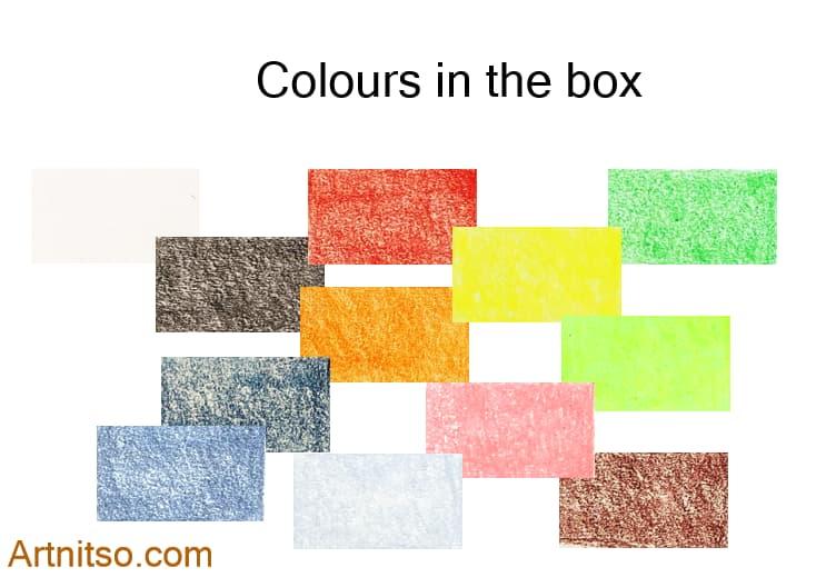 Caran d'Ache Luminance set of 12 colours in the box. Artnitso.com