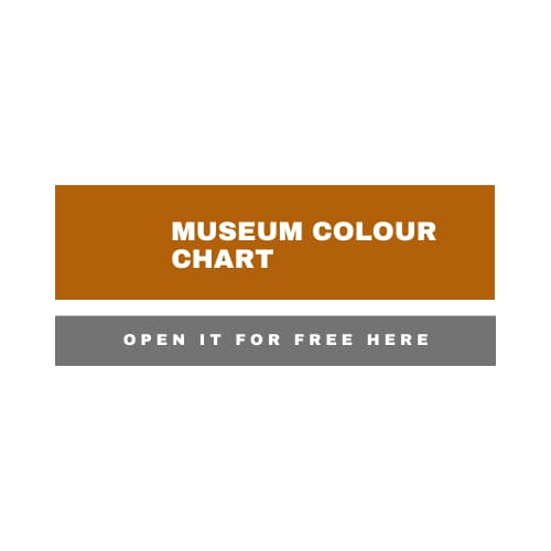 Link to an interactive colour chart for Caran d'Ache Museum coloured pencils