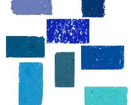 Caran d'Ache Neopastel Blue Artnitso.com