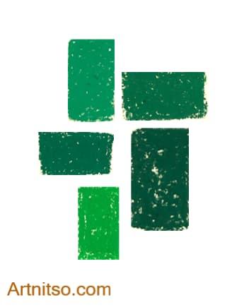 Caran d'Ache Neopastel Green Artnitso.com