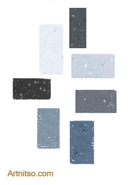 Caran d'Ache Neopastel Neutral-Cool Grey Artnitso.com