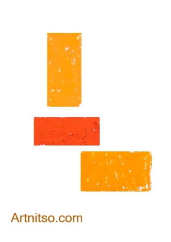 Caran d'Ache Neopastel Orange Artnitso.com
