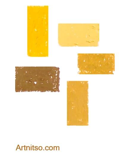 Caran d'Ache Neopastel Orange-Yellow Artnitso.com