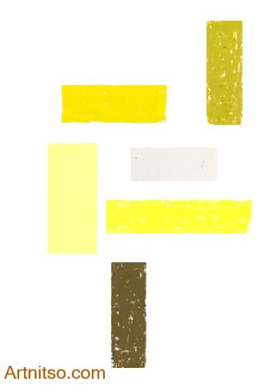Caran d'Ache Neopastel Yellow Artnitso.com