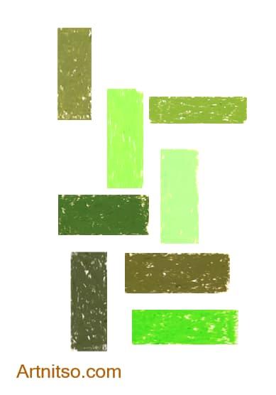 Caran d'Ache Neopastel Yellow-Green Artnitso.com