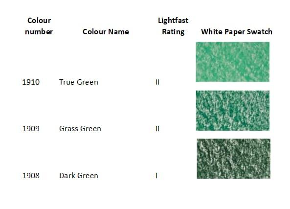 Prismacolor Artstix 48 Green