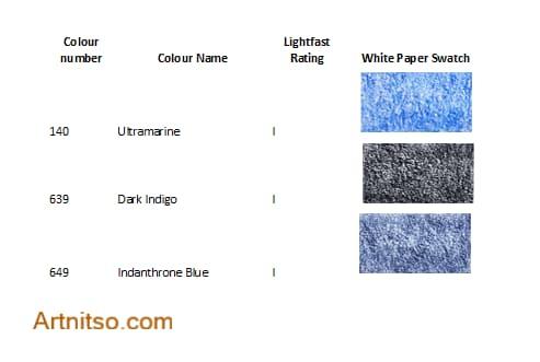 New Caran dAche Luminance Blue-violet - Artnitso.com