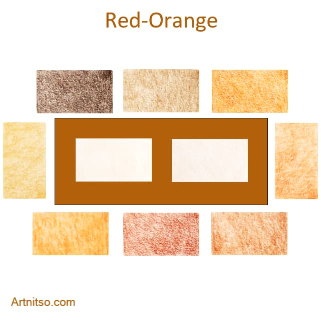 Derwent Procolour Red-Orange - Artnitso.com