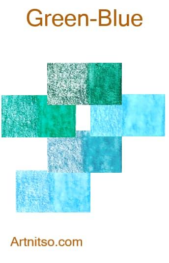 Caran d'Ache Museum - Green-Blue - Artnitso.com