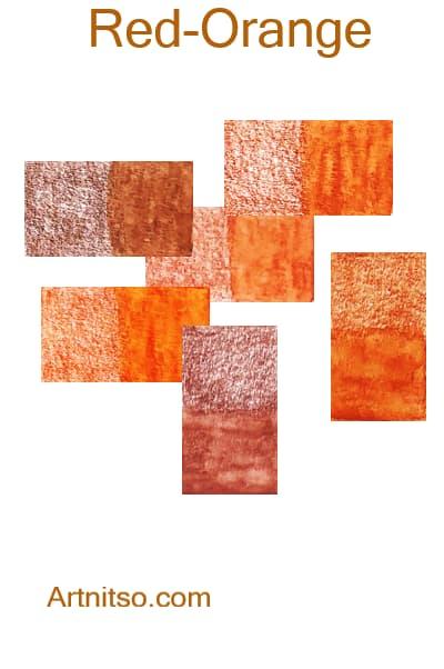 Caran d'Ache Museum - Red-Orange - Artnitso.com