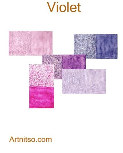 Caran d'Ache Museum - Violet - Artnitso.com