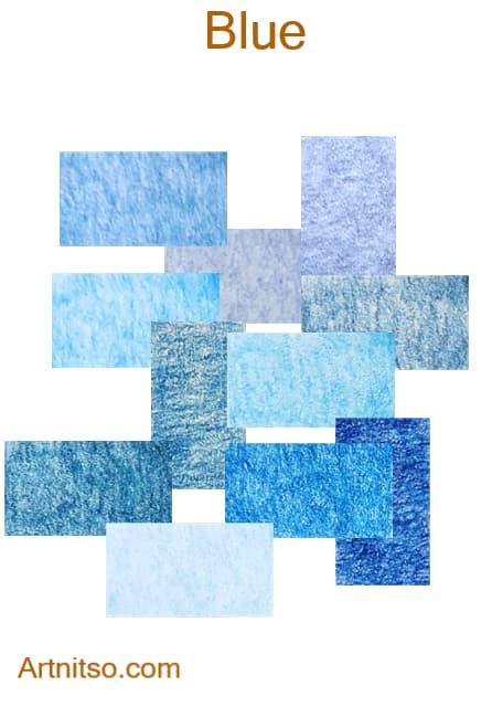 Caran d'Ache Pablo - Blue - Artnitso.com