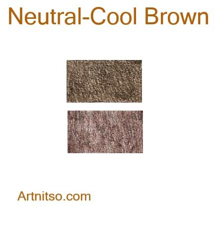 Caran d'Ache Pablo - Neutral-Cool Brown - Artnitso.com