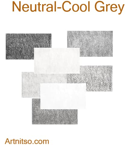 Caran d'Ache Pablo - Neutral-Cool Grey - Artnitso.com