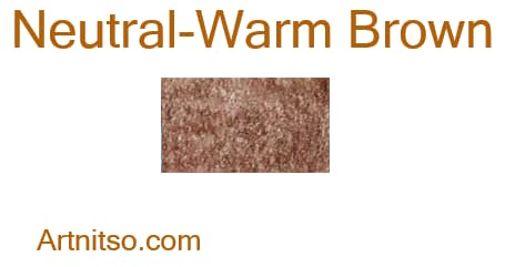 Caran d'Ache Pablo - Neutral-Warm Brown - Artnitso.com