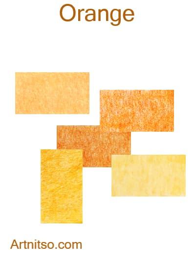 Caran d'Ache Pablo - Orange - Artnitso.com