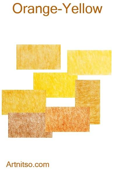 Caran d'Ache Pablo - Orange-Yellow - Artnitso.com