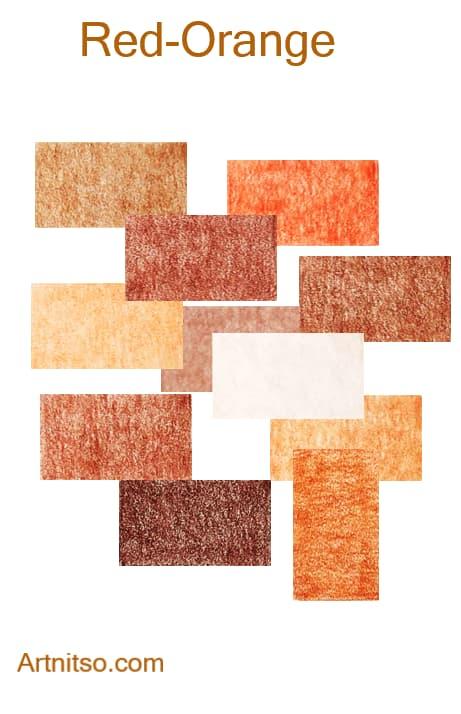 Caran d'Ache Pablo - Red-Orange - - Artnitso.com