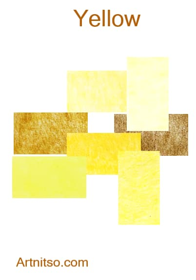 Caran d'Ache Pablo - Yellow - Artnitso.com