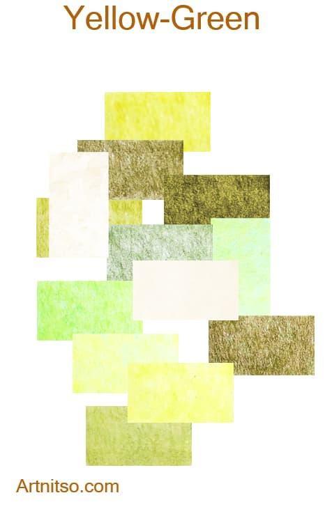 Caran d'Ache Pablo - Yellow-Green - Artnitso.com