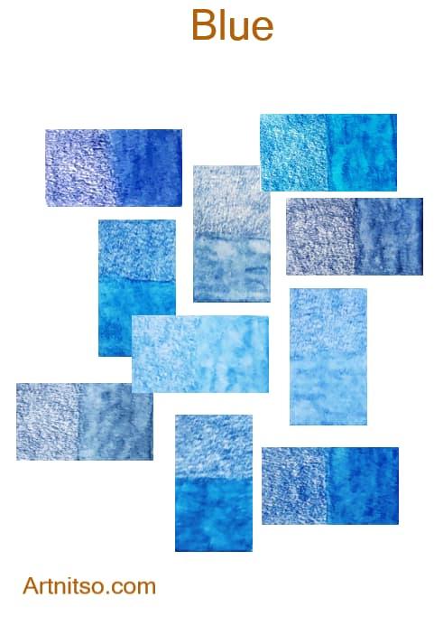 Caran d'Ache Supracolor Blue - Artnitso.com