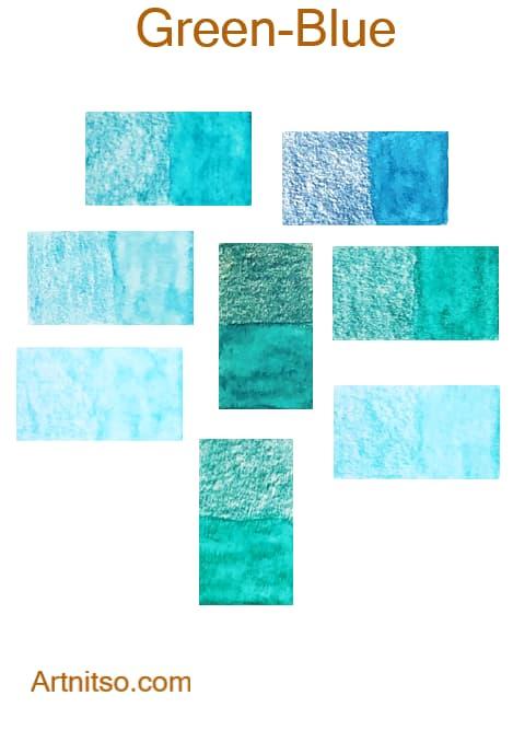 Caran d'Ache Supracolor Green-Blue - Artnitso.com