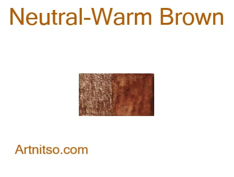 Caran d'Ache Supracolor Neutral-Warm Brown - Artnitso.com