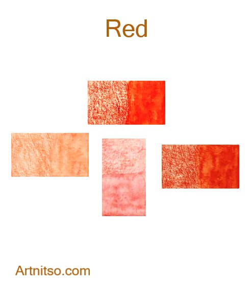 Caran d'Ache Supracolor Red - Artnitso.com