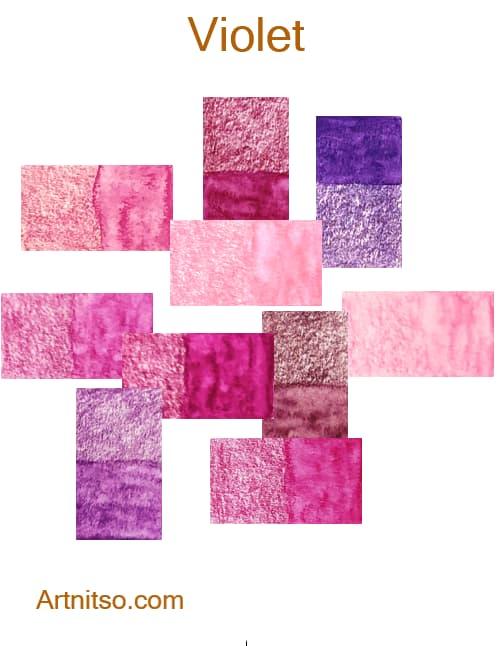 Caran d'Ache Supracolor Violet - Artnitso.com