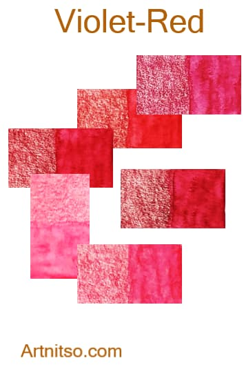 Caran d'Ache Supracolor Violet-Red - Artnitso.com