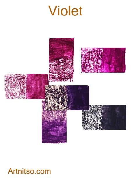 Derwent Inktense - Violet - Artnitso.com