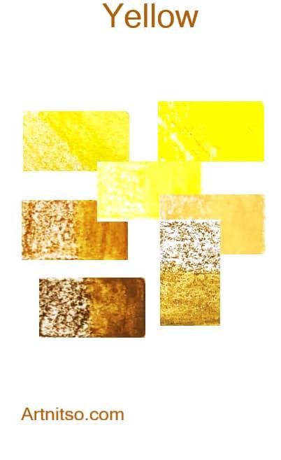 Derwent Inktense - Yellow - Artnitso.com