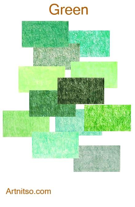 Faber Castell Polychromos - Green - Artnitso.com