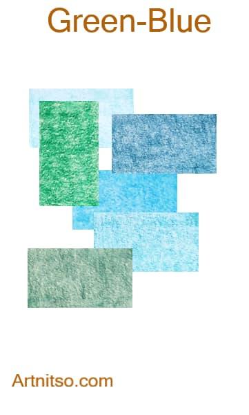 Faber Castell Polychromos - Green-Blue - Artnitso.com
