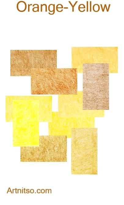 Faber Castell Polychromos - Orange-Yellow - Artnitso.com