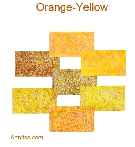 Prismacolor Premier 12 144 Orange-Yellow Artnitso.com