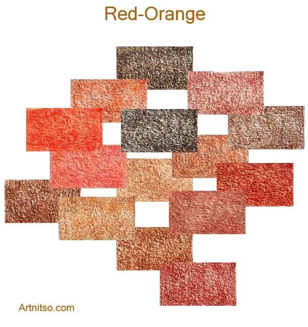 Prismacolor Premier 12 144 Red-Orange - Artnitso.com
