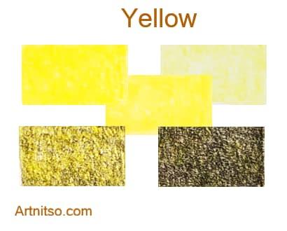 Prismacolor Premier 12 144 Yellow - Artnitso.com