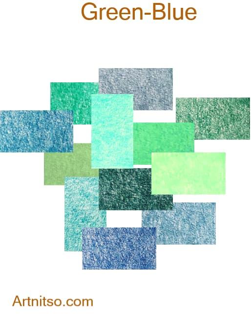 Prismacolor Premier Green-Blue - Artnitso.com