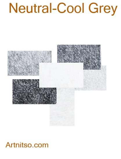 Prismacolor Premier I and II -Neutral-Cool Grey - Artnitso.com
