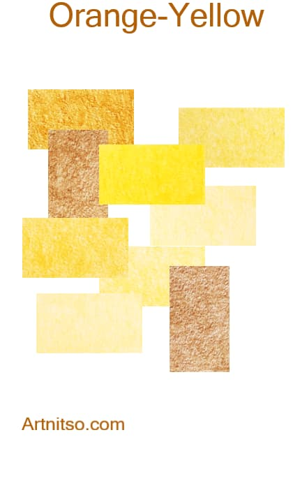 Prismacolor Premier I and II -Orange-Yellow - Artnitso.com