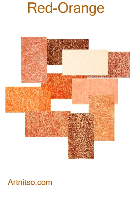 Prismacolor Premier I and II -Red-Orange - Artnitso.com